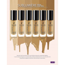 SUBLUMIERE TOTAL CONTROL SKIN TINT FOUNDATION (ROUND BOT)