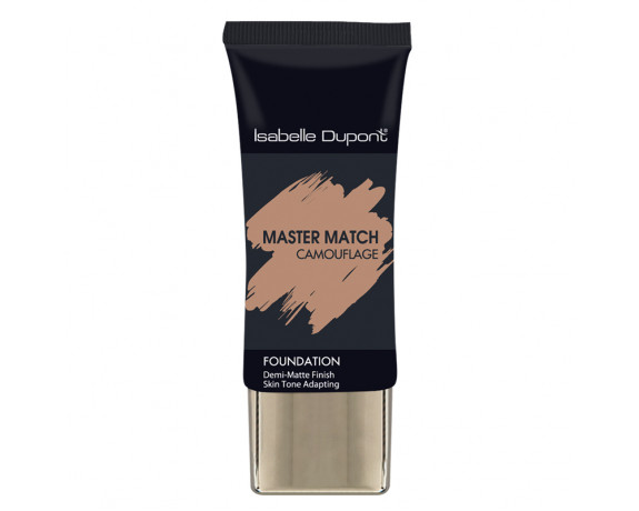 MASTER MATCH CAMOUFLAGE SEMI MATTE FOUNDATION TUBE